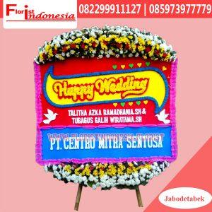Karangan Bunga Papan Wedding Jakarta Barat FJKTW-013