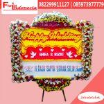 Karangan Bunga Papan Wedding Jakarta FJKTW-016