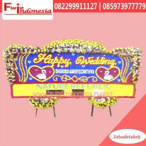 Karangan Bunga Papan Wedding Jakarta FJKTW-018