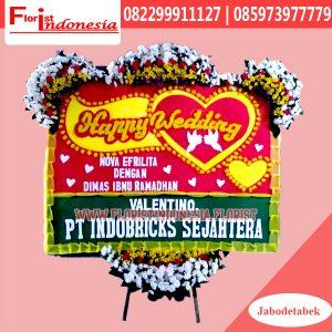 Karangan Bunga Papan Wedding Jakarta Timur FJKTW-010