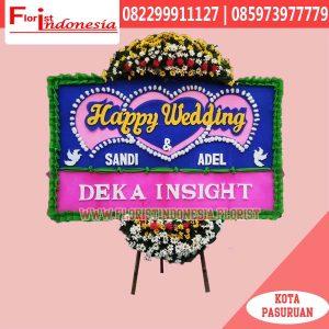 Karangan Bunga Papan Wedding Tangerang FJKTW-002