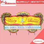 Karangan Bunga Papan Wedding Tangerang FJKTW-019