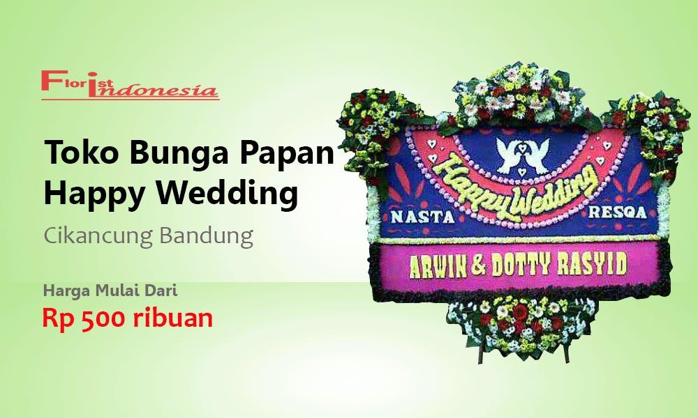 Toko Bunga Papan Wedding Cikancung Bandung