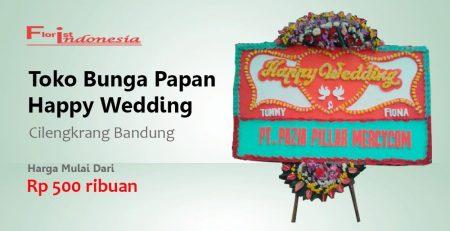 Toko Bunga Papan Wedding Cilengkrang Bandung