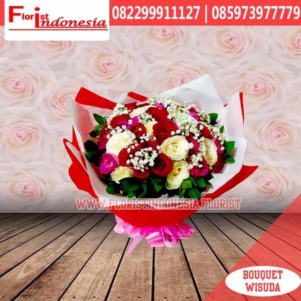 hand bouquet wisuda HBW-009