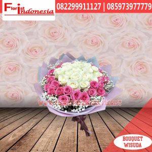 hand bouquet wisuda HBW-011