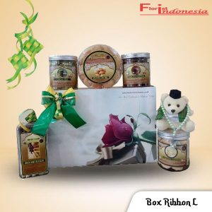 Hampers Parcel Lebaran Box Ribbon L FI