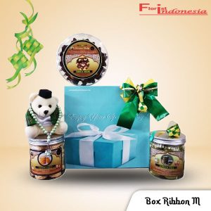 Hampers Parcel Lebaran Box Ribbon M FI