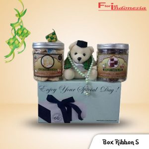 Hampers Parcel Lebaran Box Ribbon S FI